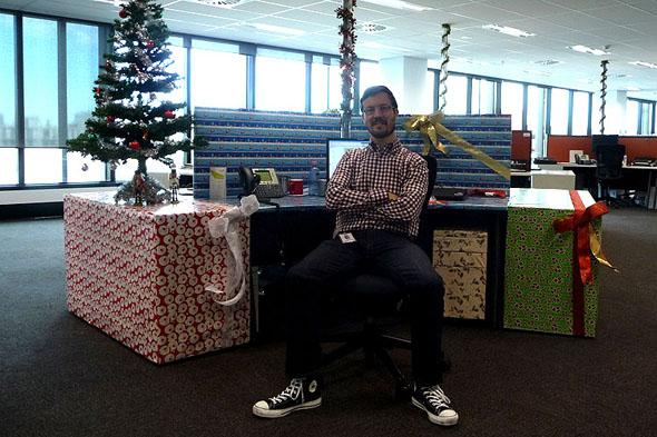 Melbourne Loft Blog Archive Best Dressed Christmas Desk